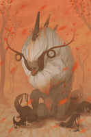 autumn god by sc-parade