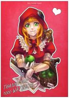 Red Riding Annie - Thanks for 1000 watchers! by MonoriRogue