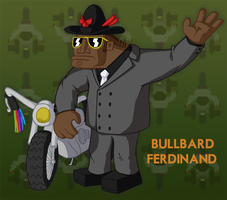Video Game Villain - Bullbard by Dudesoft