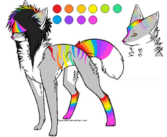 Rainbow Adopt ..::CLOSED::.. by love-the-adopts