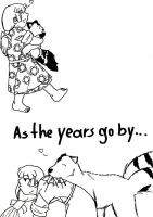 As the years go by... by Booboo-kitty-cat