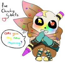 Undertale AU - Bittybones Crayon by Purly