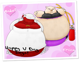 V-DAY 2010 - The Postcard by The-Fat-Red-Dragon