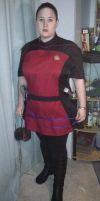 full star Trek costume shot by Zara-firethorne