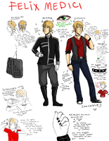FELIX REF SHEET THING by Kuneria