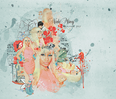 nicki minaj blend 56 by nikito0o