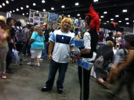 AX day 2 yugi and joey by DrGengar