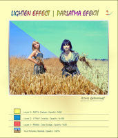 Lighten Effect PS Tutorials by Qebsenuef