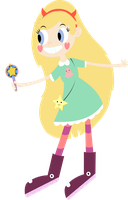 Star Butterfly by Twitchy-Tremor