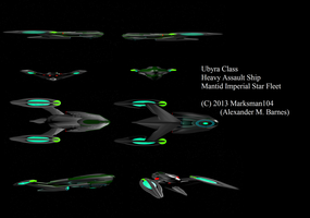 Ubyira Class  different angles by Marksman104