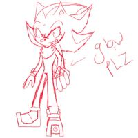shadow sketch collab by rouge2t7