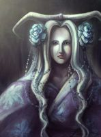 Silver hair by Nisato
