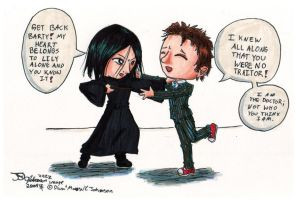 10 meets Snape by ParallelPenguins
