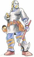 Frost giant by Pachycrocuta