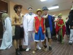 Garp and His Grandsons at AFAMY 2012 by riezforester