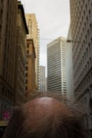 Bald in the city by JimP4nsen