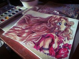 Nunnally from Code Geass by MaryM8D