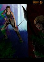 The Hunger Games: Katniss vs Cato by PaulVincent