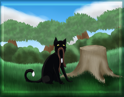 Ravenpaw's Adder by Allizia
