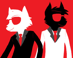 AGENTS ARE GO by the-awesome-pup