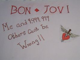 Bon Jovi Sign by ArtemisCreed