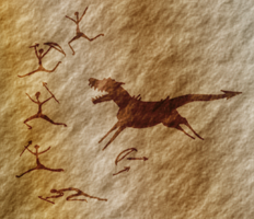 Cave painting by Domnopalus