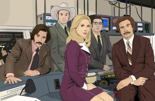 Channel Four News Team by nic0880