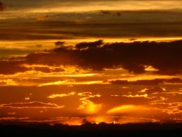 Sunset Over Titicaca by Sakbe