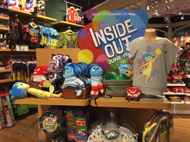 Inside Out stuff at the Disney store! by Cartuneslover16
