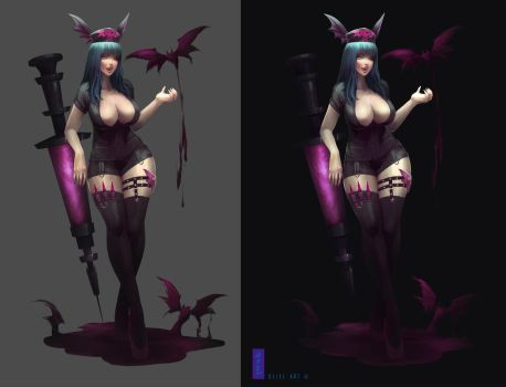 Morrigan by UlielArt