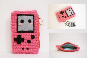 Kawaii Gameboy Color Clutch by milliemouse579