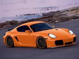 "Porsche Cayman ""RS"" by Sicarii"