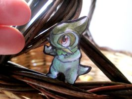 Paperchild 717.Pokemon#610 - Axew by FuriarossaAndMimma