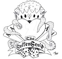 SullenSquid tattoo-style visual by SullenSquid