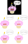 Reddit - Redesign Pink Muffin by Christin-Cat-Bat