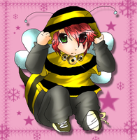 Buzz-y Bee Albert CHIBI by lampjelly