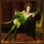 Absinthe Makes the Heart Grow Fonder by Cynnalia
