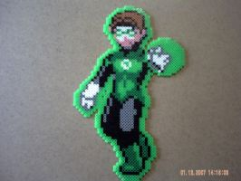 Green lantern by perles-hama