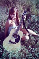 My Guitar- by Sarahmillerphoto