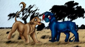 Lions by Kysan