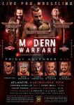 NWA Fight! Nation Modern Warfare Official Flyer by Mohamed-Fahmy
