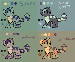 Adoptable Sheet 5 |CLOSED| by Adrakables