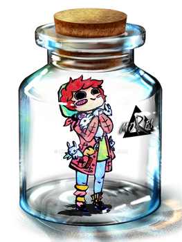 ChiBottle (Chibi-Bottle) by MegaNE-KO