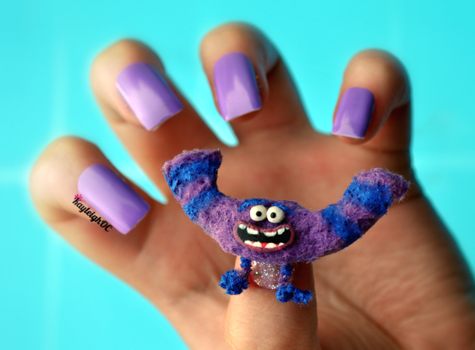 Monsters University Nails - Art by KayleighOC