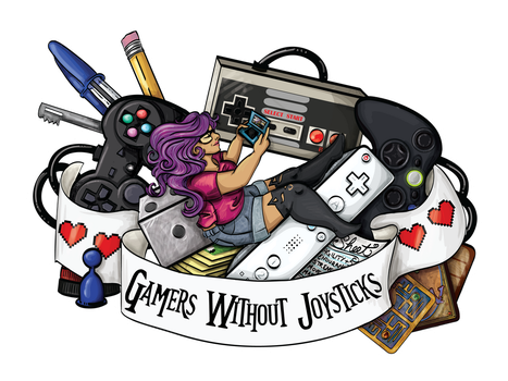 Gamers Without Joysticks by labrattish