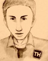 *Todd Haberkorn Drawing* by AniMusision
