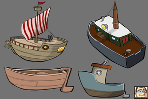 Ships/Boat - concepts by mcunha98