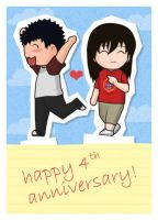 4th Anniversary by lucero