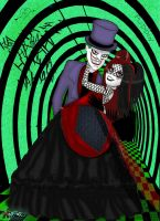 Joker and Harley Just Married by Lttle-Horrors