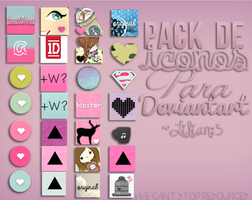 #PACK ICONOS PARA DA. by LylyEditions
